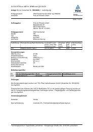 GUTACHTEN zur ABE Nr. 47163 nach §22 StVZO Anlage 12 zum ...