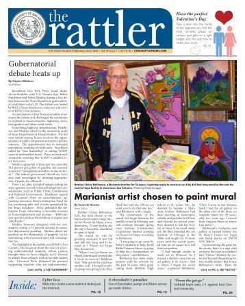 The Rattler February 10, 2010 v. 97 #7 - St. Mary's University