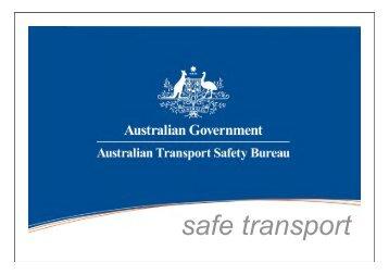 safe transport - Australian Transport Safety Bureau