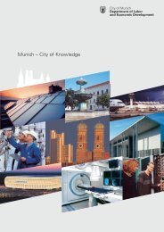 Munich - City of Knowledge - Referat für Arbeit und Wirtschaft