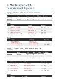 IC Meisterschaft 2011, Seniorinnen 3. Liga, Gr. 3 - TC Sauliamt - Page 2