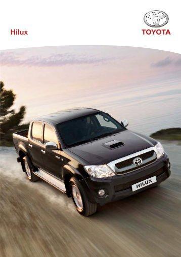 Prospekt Toyota Hilux