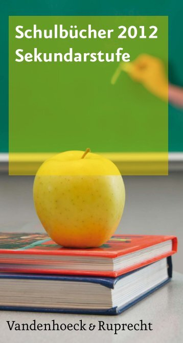 Schulbücher 2012 Sekundarstufe