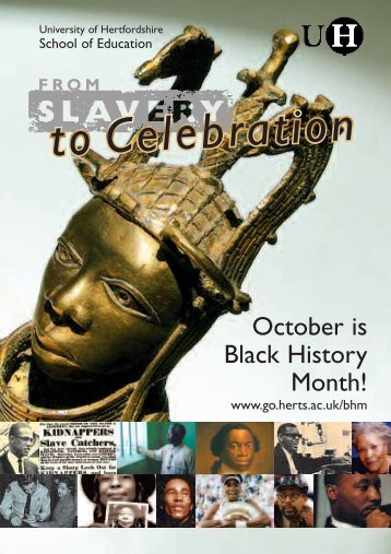 October is Black History Month! - North Hertfordshire District Council