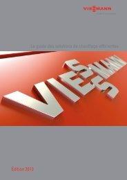 Le Guide des solutions de chauffage efficientes40.8 MB - Viessmann