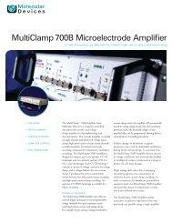 MultiClamp 700B datasheet rev B.indd - Molecular Devices