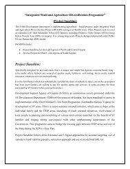 Project Sunshine - Vanbandhu Kalyan Yojana - Government of Gujarat