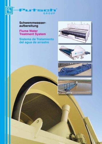 Schwemmwasser aufbereitung Flume Water Treatment System ...