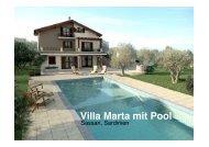 Villa Marta mit Pool - Sardinia Living