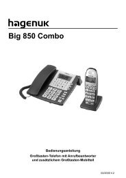 Big 850 Combo - Bedienungsanleitungen