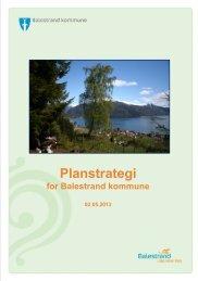 Dokument: KOMMUNAL PLANSTRATEGI FOR BALESTRAND ...