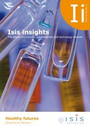 Isis insights - Isis Innovation