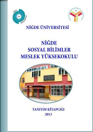 Eğitim Öğretim - Niğde Sosyal Bilimler Meslek Yüksekokulu
