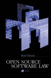Open Source Software Law