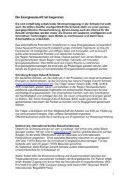 Bericht Future Building - Steiner, Urs