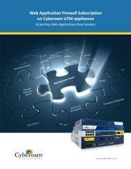 Download WAF Brochure - Cyberoam