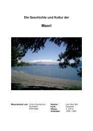 Geschichte und Kultur der Maori - sonnegg.ch