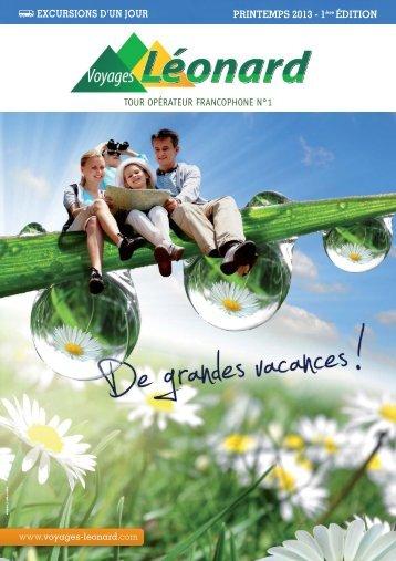 Edition Printemps Eté 2013 - Voyages Léonard