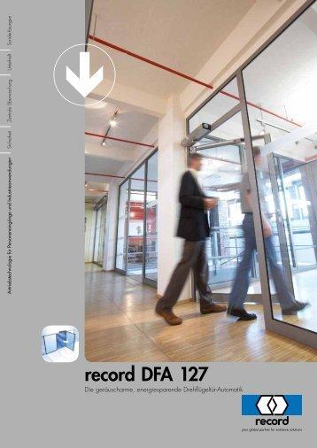 record DFA 127