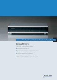 LANCOM 1681V - LANCOM Systems