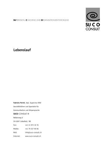 Lebenslauf Kader mit Logo2 - Berufsimpulse.ch