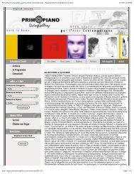 Primo Piano living gallery galleria d'arte contemporanea - Palazzo ...