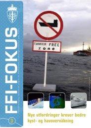 Nye utfordringer krever bedre kyst- og havovervåkning - Forsvarets ...