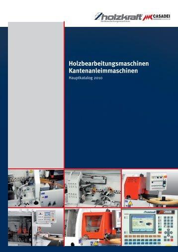Holzbearbeitungsmaschinen Kantenanleimmaschinen - Holzkraft