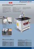 Holzbearbeitungsmaschinen Kantenanleimmaschinen - Holzkraft - Page 5