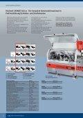 Holzbearbeitungsmaschinen Kantenanleimmaschinen - Holzkraft - Page 6