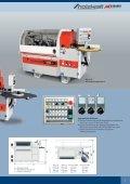 Holzbearbeitungsmaschinen Kantenanleimmaschinen - Holzkraft - Page 7