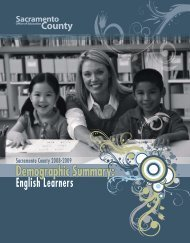 English Learners - Sacramento County Office of Education