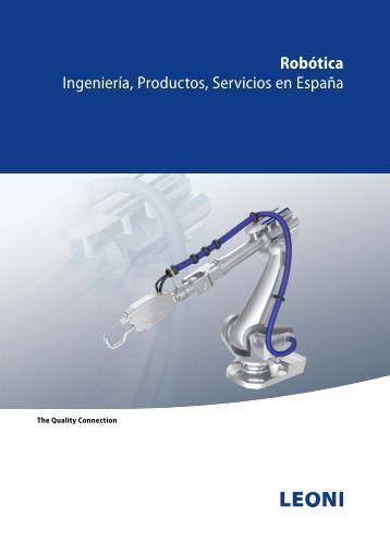 Robótica Ingeniería, Productos, Servicios en España - LEONI