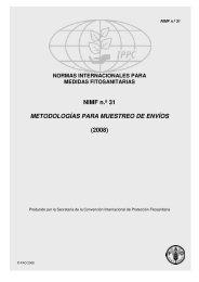 NIMF n.º 31 METODOLOGÍAS PARA MUESTREO DE ENVÍOS (2008)
