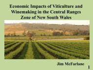 Economic Impacts of Viticulture and Winemaking on Employment ...