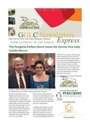 (Volume 1) GGLC Express Issue - Global Gateway Logistics City