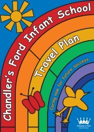 to open a copy of our Travel Plan - Chandler's Ford Infant School
