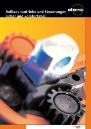 Rollladenantriebe und Steuerungen sicher und ... - Antriebe 24