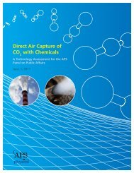 Direct Air Capture of CO2 with Chemicals Technology Assessment