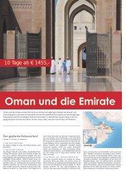 Oman und die Emirate