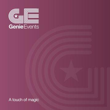 pdf brochure - Genie Events