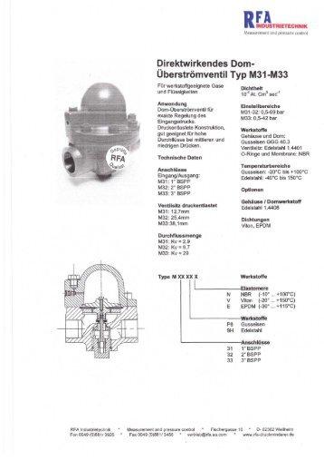 M31- P8- 1  - Druckminderer