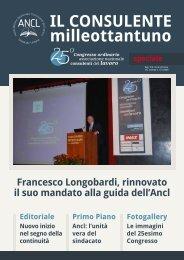 Francesco Longobardi, rinnovato il suo mandato alla guida dell'Ancl