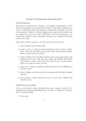 Job Description Front Office Internship