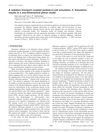 the plasma theory essay Plasma etching patrick verdonck 1 plasma etch chemistry and diagnostics are the strong points of reported in these papers were very difficult to reproduce.