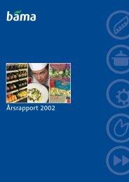 BAMA Årsrapport 2002
