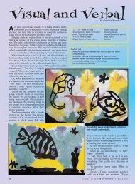 Visual and Verbal - Arts & Activities Magazine