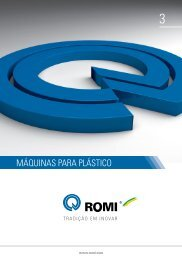 Máquinas para plástico - Romi