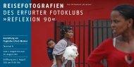 REisEFotogRAFiEn dEs ErfUrTEr foToklUBs »rEflExion 90«