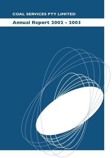 Coal Services Annual Report 2002